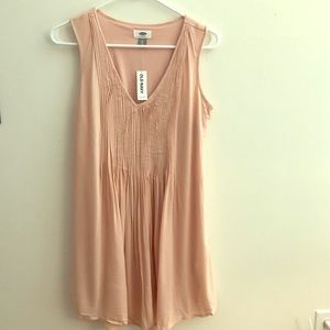 OLD NAVY PLEATED FRONT DRESS